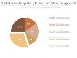 Market Size Template 3 Powerpoint Slide Backgrounds