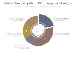 Market Size Template 3 Ppt Background Designs