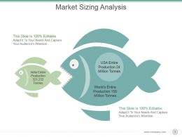 Market Sizing Analysis Powerpoint Slide Influencers
