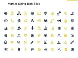 Market Sizing Icon Slide Management K183 Ppt Powerpoint Presentation Icon Topics