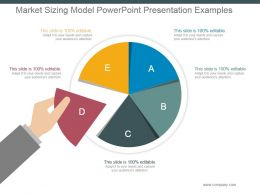 Market Sizing Model Powerpoint Presentation Examples