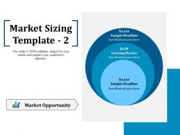 Market Sizing Ppt Summary Guidelines