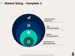 Market Sizing Template 3 Expected Segment Ppt Powerpoint Presentation Display