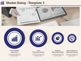 Market Sizing Template Addressable Ppt Powerpoint Presentation Summary Slide Download