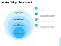 Market Sizing Template Potential Market Ppt Powerpoint Presentation Themes