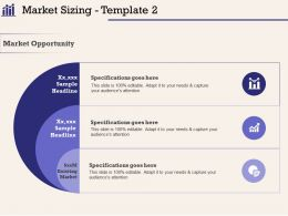 Market Sizing Template Specifications Ppt Powerpoint Presentation Ideas Vector