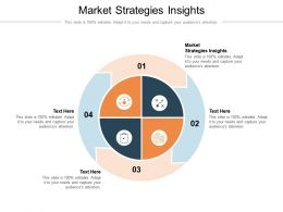 Market Strategies Insights Ppt Powerpoint Presentation Layouts Model Cpb