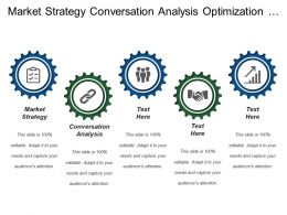 Market Strategy Conversation Analysis Optimization Process Offline Integration