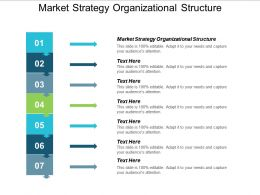 Market Strategy Organizational Structure Ppt Powerpoint Presentation Portfolio Cpb