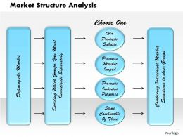 Market Structure Analysis Powerpoint Presentation Slide Template