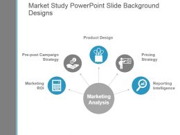 Market Study Powerpoint Slide Background Designs