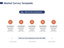 Market Survey Summary Process Ppt Powerpoint Presentation Styles Samples