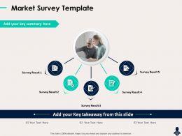 Market Survey Template Key Takeaway Ppt Powerpoint Presentation Graphics