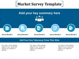 Market Survey Template Ppt Outline Layout Ideas