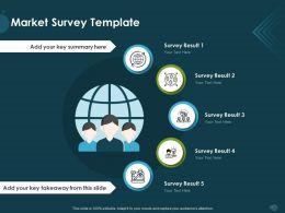 Market Survey Template Result M1153 Ppt Powerpoint Presentation Portfolio Designs Download