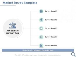 Market Survey Template Summary Ppt Powerpoint Presentation Visual Aids Styles