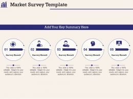 Market Survey Template Your Key M1036 Ppt Powerpoint Presentation Styles Guidelines