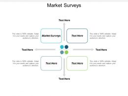 Market Surveys Ppt Powerpoint Presentation File Visual Aids Cpb