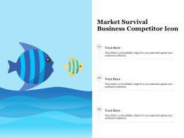 Market Survival Business Competitor Icon