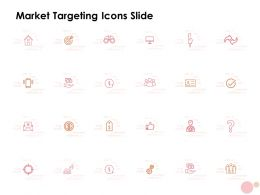 Market Targeting Icons Slide Ppt Powerpoint Presentation Outline Microsoft