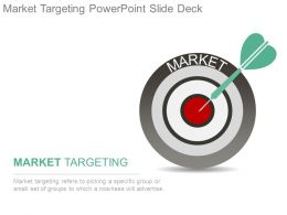 Market Targeting Powerpoint Slide Deck