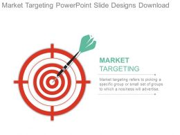 Market Targeting Powerpoint Slide Designs Download