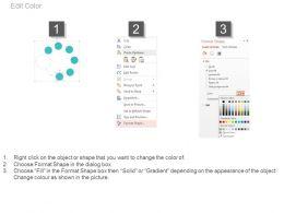 42853437 Style Circular Loop 7 Piece Powerpoint Presentation Diagram Infographic Slide