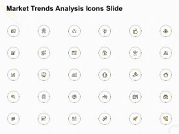 Market Trends Analysis Icons Slide Ppt Powerpoint Presentation Outline Examples