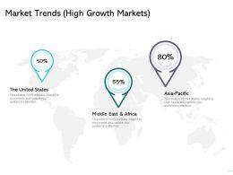 Market Trends High Growth Markets Location Ppt Powerpoint Presentation Show Smartart
