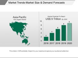 Market Trends Market Size And Demand Forecasts Ppt Images Gallery