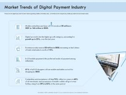 Market Trends Of Digital Payment Industry Digital Payment Online Solution Ppt Ideas