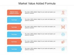 Market Value Added Formula Ppt Powerpoint Presentation Styles Files Cpb