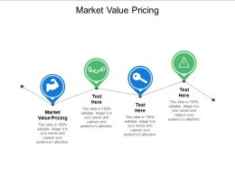 Market Value Pricing Ppt Powerpoint Presentation Pictures Themes Cpb