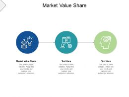 Market Value Share Ppt Powerpoint Presentation Layouts Guidelines Cpb