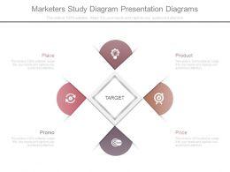 Marketers Study Diagram Presentation Diagrams