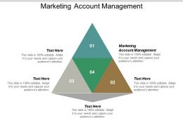 Marketing Account Management Ppt Powerpoint Presentation Pictures Inspiration Cpb