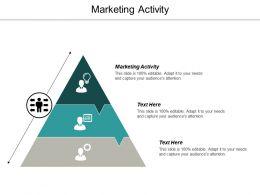 Marketing Activity Ppt Powerpoint Presentation Summary Background Cpb