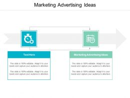 Marketing Advertising Ideas Ppt Powerpoint Presentation Infographic Template Inspiration Cpb