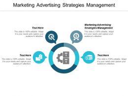 Marketing Advertising Strategies Management Ppt Powerpoint Presentation File Master Slide Cpb