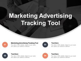 Marketing Advertising Tracking Tool Ppt Powerpoint Presentation Inspiration Grid Cpb