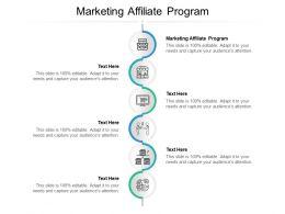 Marketing Affiliate Program Ppt Powerpoint Presentation Icon Themes Cpb