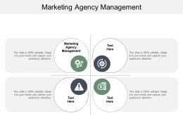 Marketing Agency Management Ppt Powerpoint Presentation Model Outfit Cpb