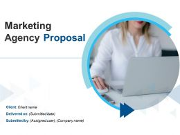 Marketing Agency Proposal Powerpoint Presentation Slides