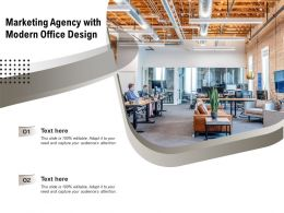 Marketing Agency With Modern Office Design