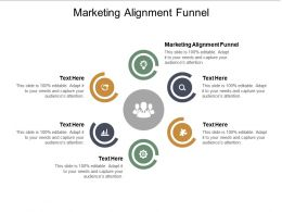 Marketing Alignment Funnel Ppt Powerpoint Presentation Gallery Icon Cpb