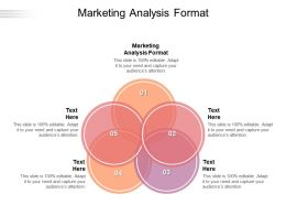 Marketing Analysis Format Ppt Powerpoint Presentation Pictures Graphic Tips Cpb