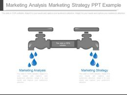 Marketing Analysis Marketing Strategy Ppt Example