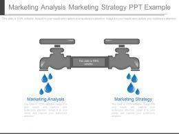 Marketing Analysis Marketing Strategy Ppt Example