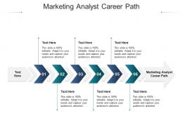 Marketing Analyst Career Path Ppt Powerpoint Presentation Layouts Slideshow Cpb