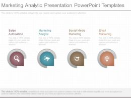 Marketing Analytic Presentation Powerpoint Templates